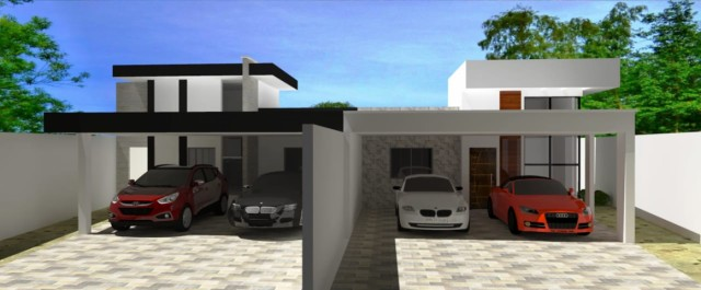 Casa em construção no Iporanga – 1825